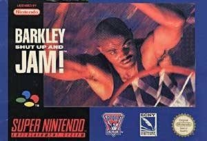 Charles Barkley! Shut Up and Jam SNES Game