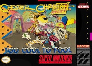 Chester Cheetah Too Cool to Fool SNES Game