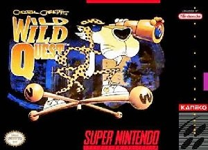 Chester Cheetah Wild Wild Quest SNES Game