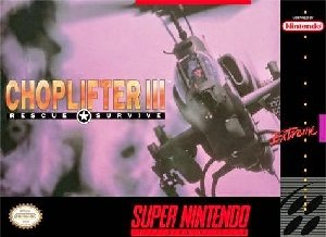 Choplifter III SNES Game