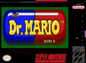 Dr.Mario World Redrawn SNES ROM Hack