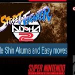 Enable Shin Akuma and Easy moves SNES ROM Hack