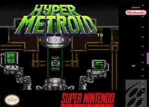 Hyper Metroid Rom hack