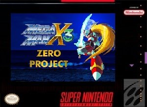 Megaman X3 Zero Project SNES ROM Hack