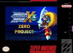 Megaman X3 Zero Project SNES ROM Hack