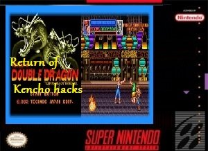 Return of Double Dragon Kencho hacks SNES ROM Hack