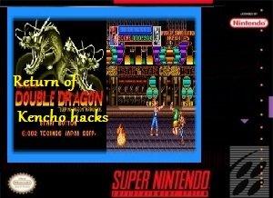 Return of Double Dragon Kencho hacks SNES ROM Hack