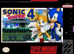 Sonic the Hedgehog 4 Cart Rom Hack