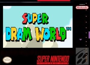 Super Dram World SNES ROM Hack