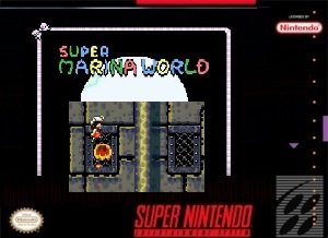 Super Marina World SNES ROM Hack