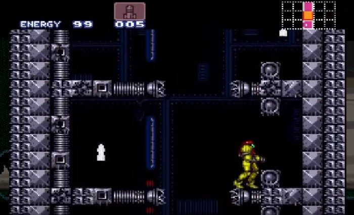 Super Metroid Rotation 3 SNES ROM Hack