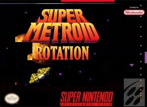 Super Metroid Rotation SNES ROM Hack