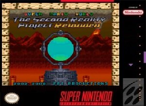 The Second reality Project Reloaded Cart SNES ROM Hack