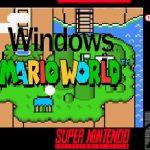 Windows Mario World SNES ROM Hack