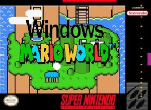 Windows Mario World SNES ROM Hack