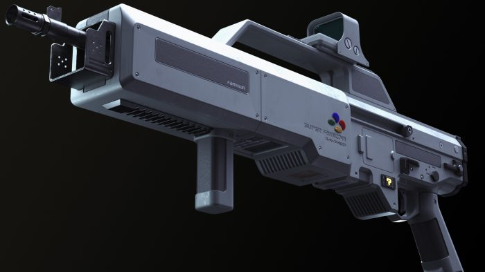 super famicon light gun