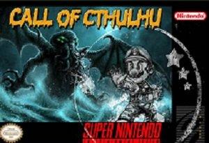 super mario world Call of Cthulhu SNES ROM Hack