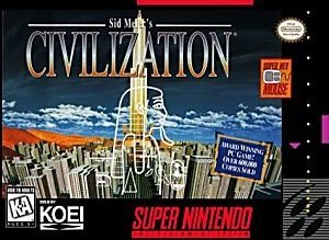 Civilization SNES Game