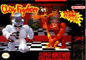 Clay Fighter Tournament Edition SNES Game