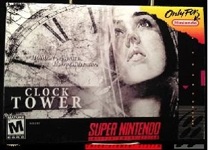 Clock Tower The First Fear SNES Game