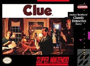 Clue SNES Game