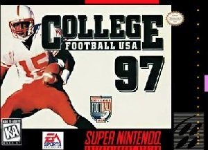 College Football USA '97 SNES Game