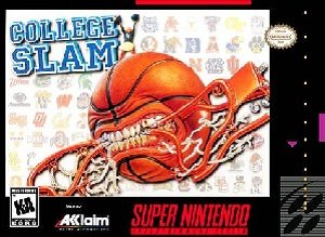 College Slam Basketball SNES Game