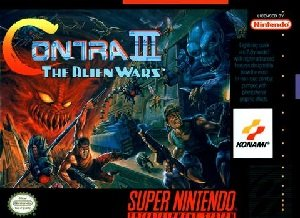 Contra III The Alien Wars SNES Game