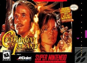 Cutthroat Island SNES Game