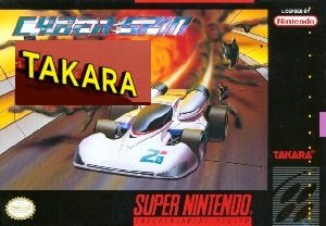 Cyber Spin Takara SNES Game