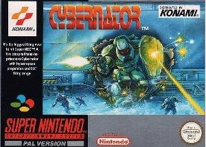 Cybernator SNES Game