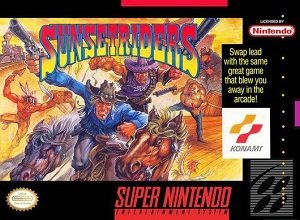 Sunset Riders SNES Game