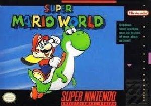 Super Mario World SNES Game