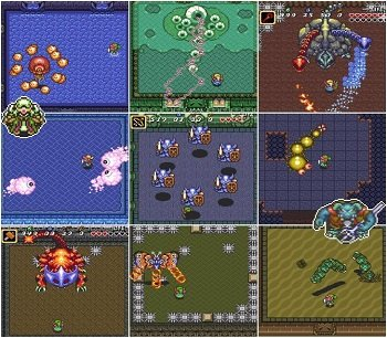 zelda snes bosses