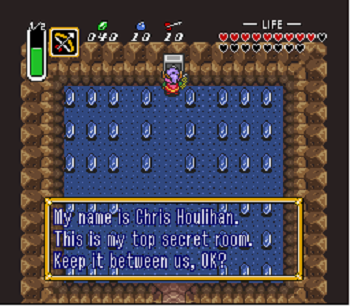 zelda top secret room