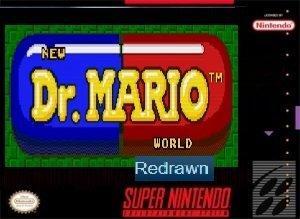 Dr.Mario World Redrawn SNES ROM Hack