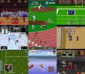 SNES Sports Games
