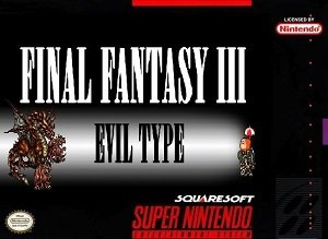 Final Fantasy 3 Eviltype SNES ROM Hack