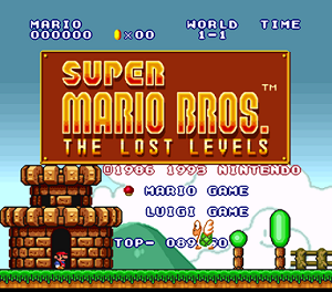 ▷ Super Mario Bros The Lost Levels (SNES) Cheats & Codes