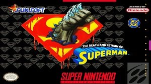 The Death and Return Of Superman snes cheats