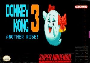 Donkey Kong 3 Another Rise snes rom hack