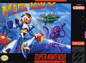 Megaman X Capsule Remix SNES ROM Hack