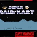 Super Baldy Kart snes rom hack