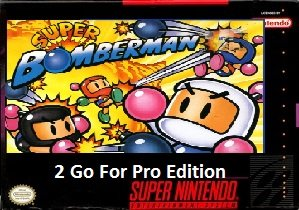 Super Bomberman 2 Go For Pro Edition snes rom hack