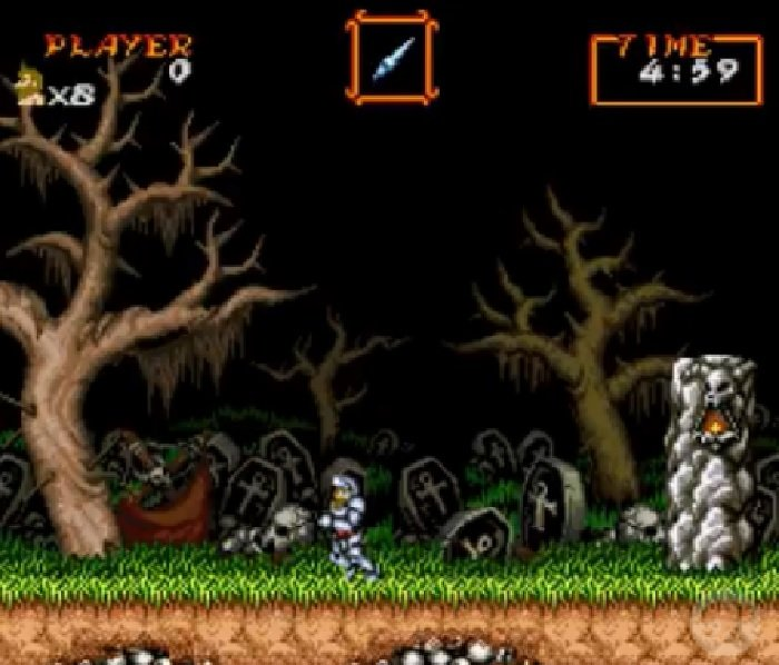 Super Ghouls N Ghosts - Super Arthur (SNES) Rom Hack Download
