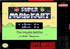 Super Mario Kart - The Impala Battles snes rom hack