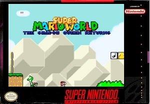 Super Mario World The Shadow Queen Returns snes rom hack