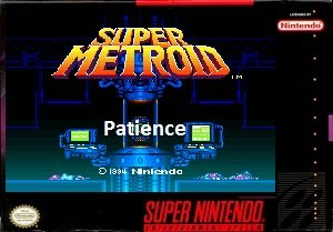 Super Metroid Patience snes rom hack