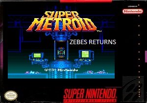Super Metroid Zebes Returns SNES ROM Hack