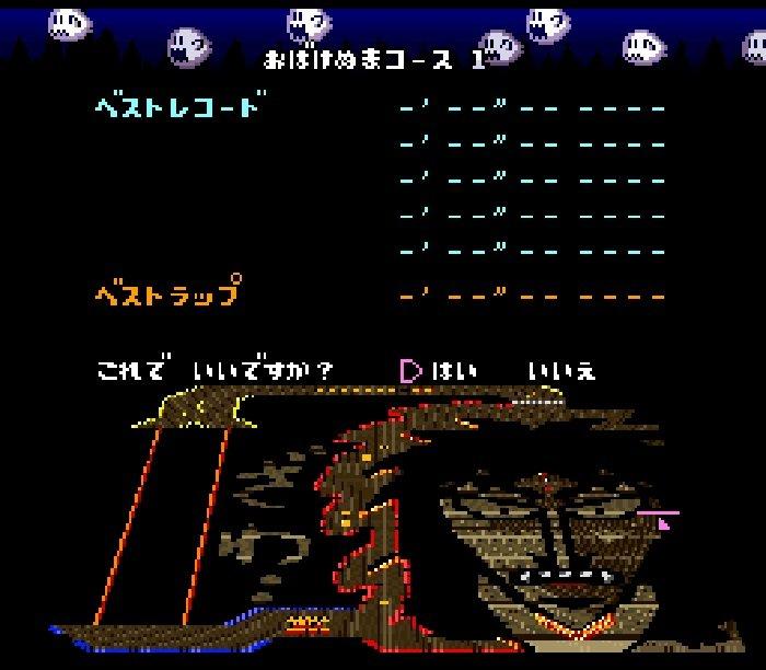 Super Niko Niko Kart (SNES) Rom Hack Download